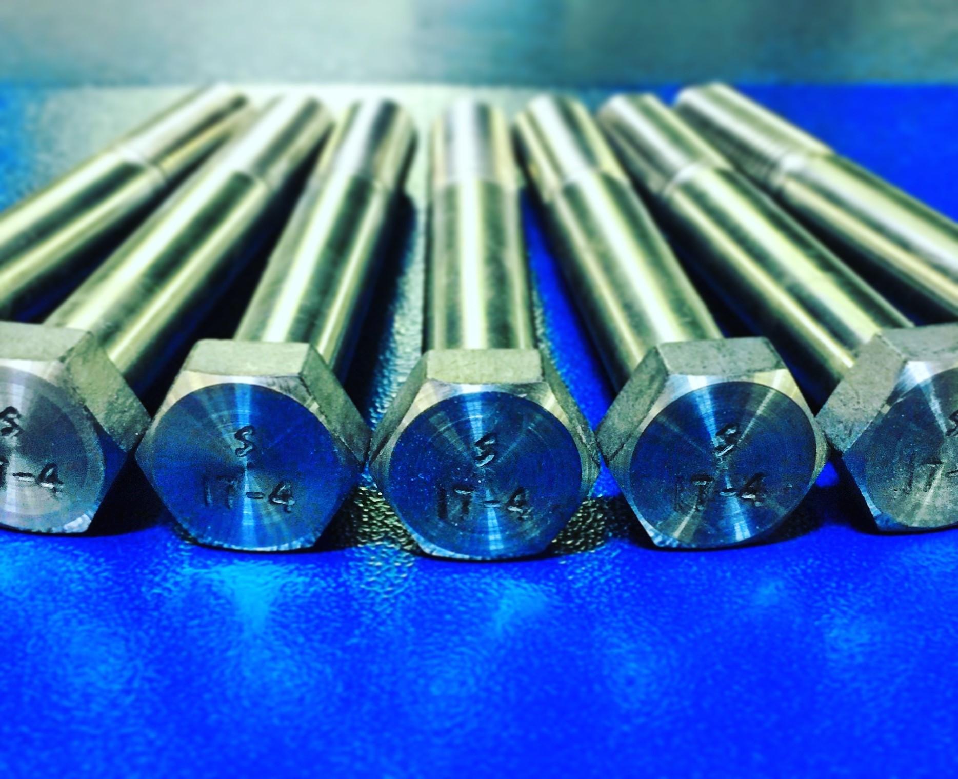 5/8(11) x 4-1/2 Hex cap screw 17-4ph H1075
