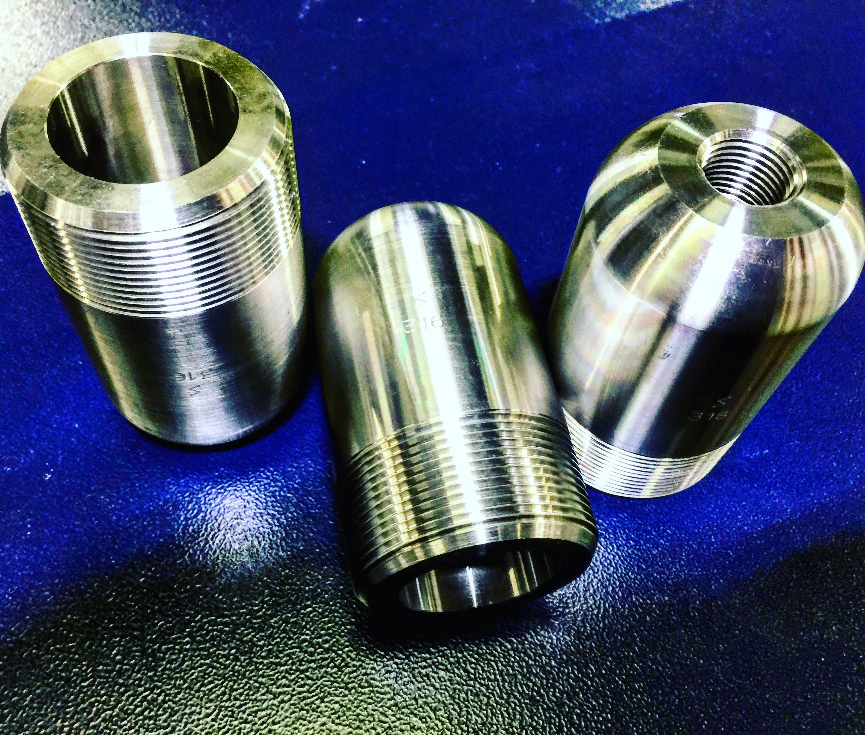 3 x 4.00 316 Stainless Pipe Nipple