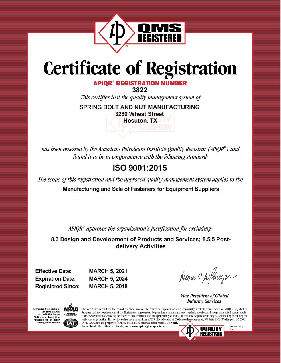 certificate-iso