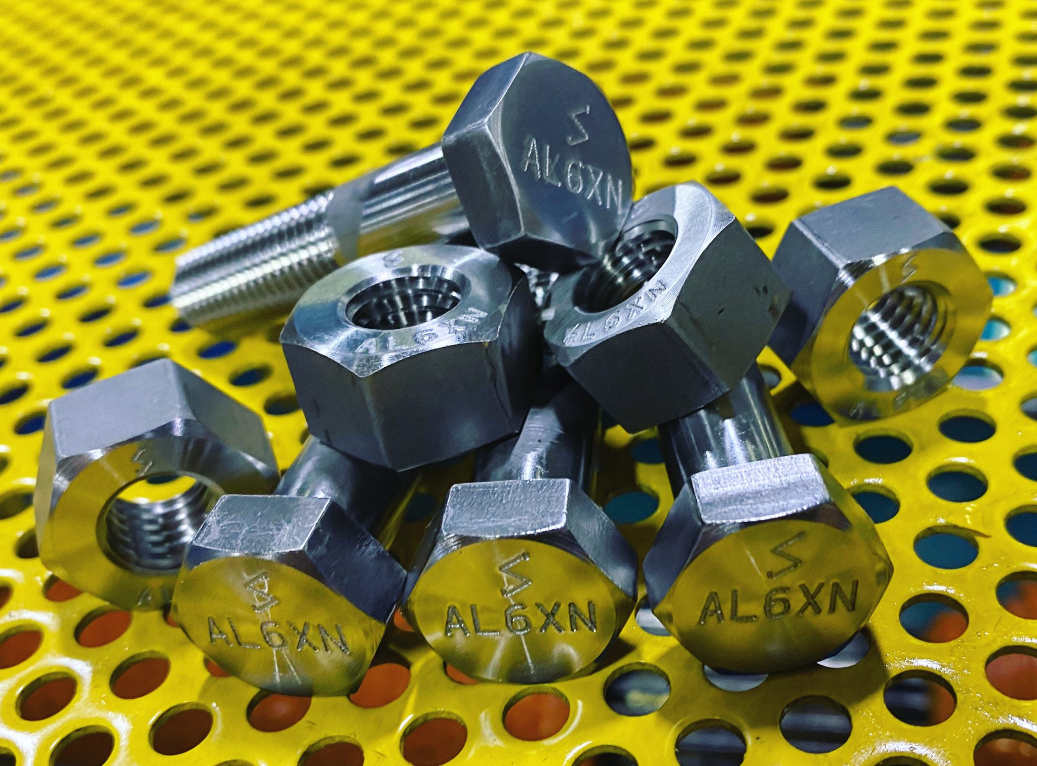 1/2(13) AL6XN Bolts and Nuts