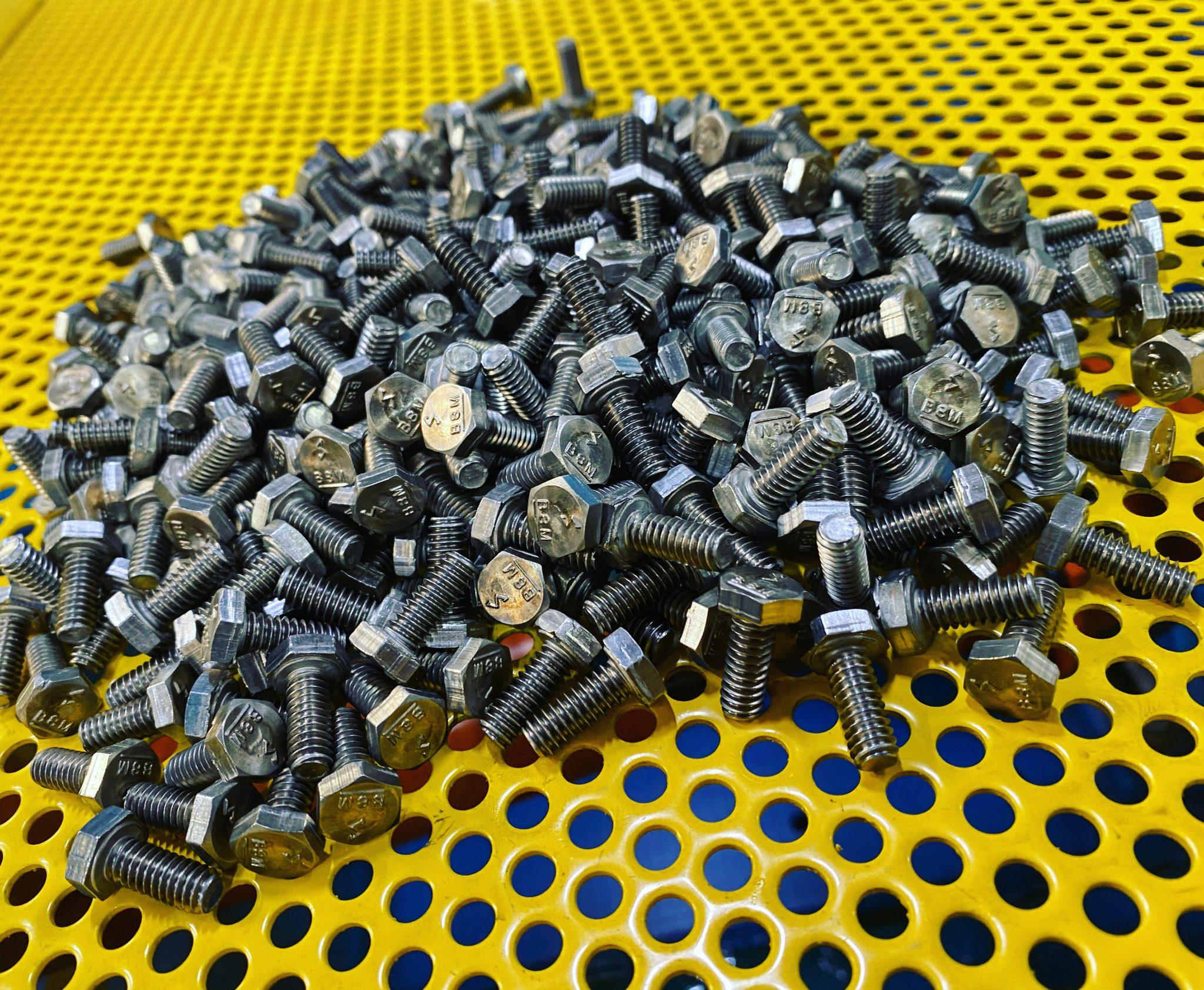 1/4(20) x 3/4 Hex Cap Screw A193 B8M